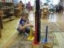 Работа детей с монтессори-материалами